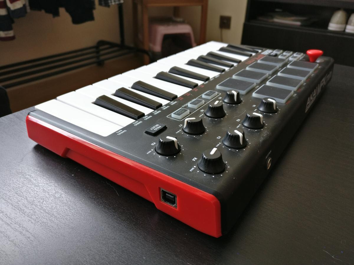 AKAI Professional MPK Mini MKII Midi Keyboard