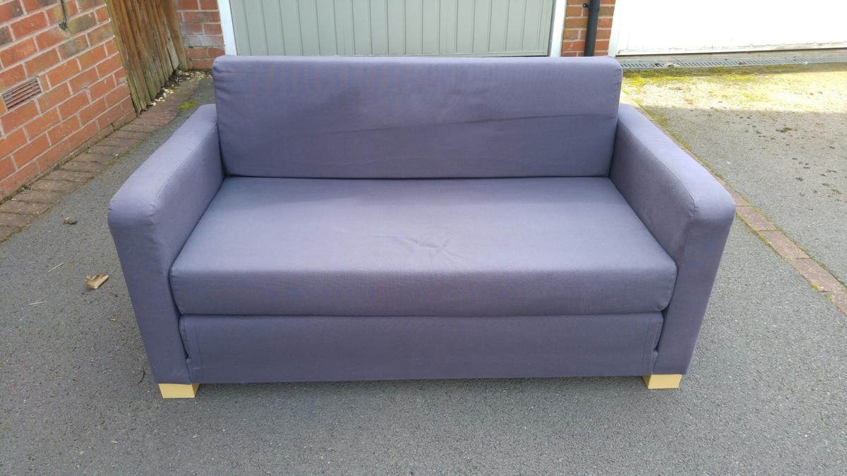 Ikea 2 Seater Sofa Bed In Ws13