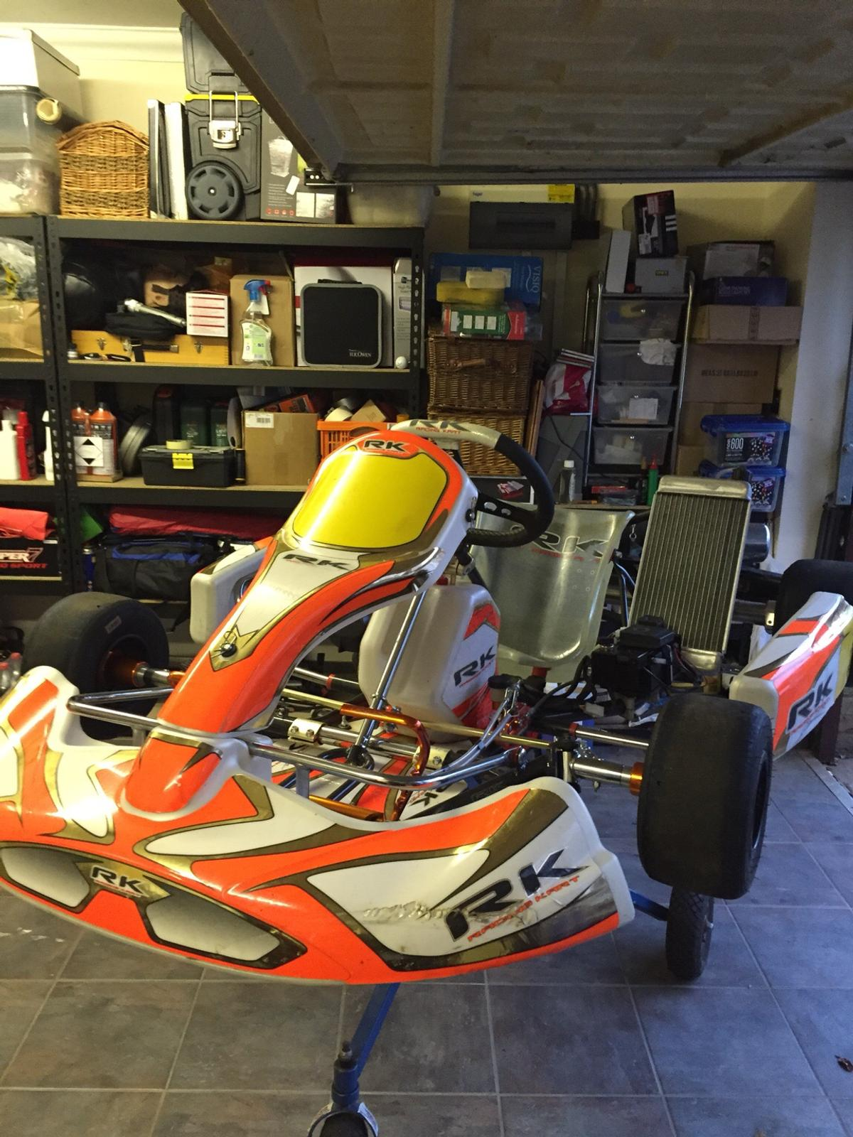 Rk racing chassis adult kart iame engine in LU4 Chalton for