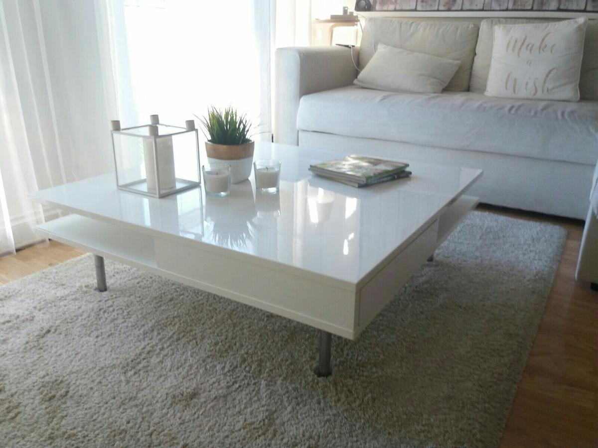 Ikea Tofteryd Coffee Table White Gloss In Lu2 Luton Für 110