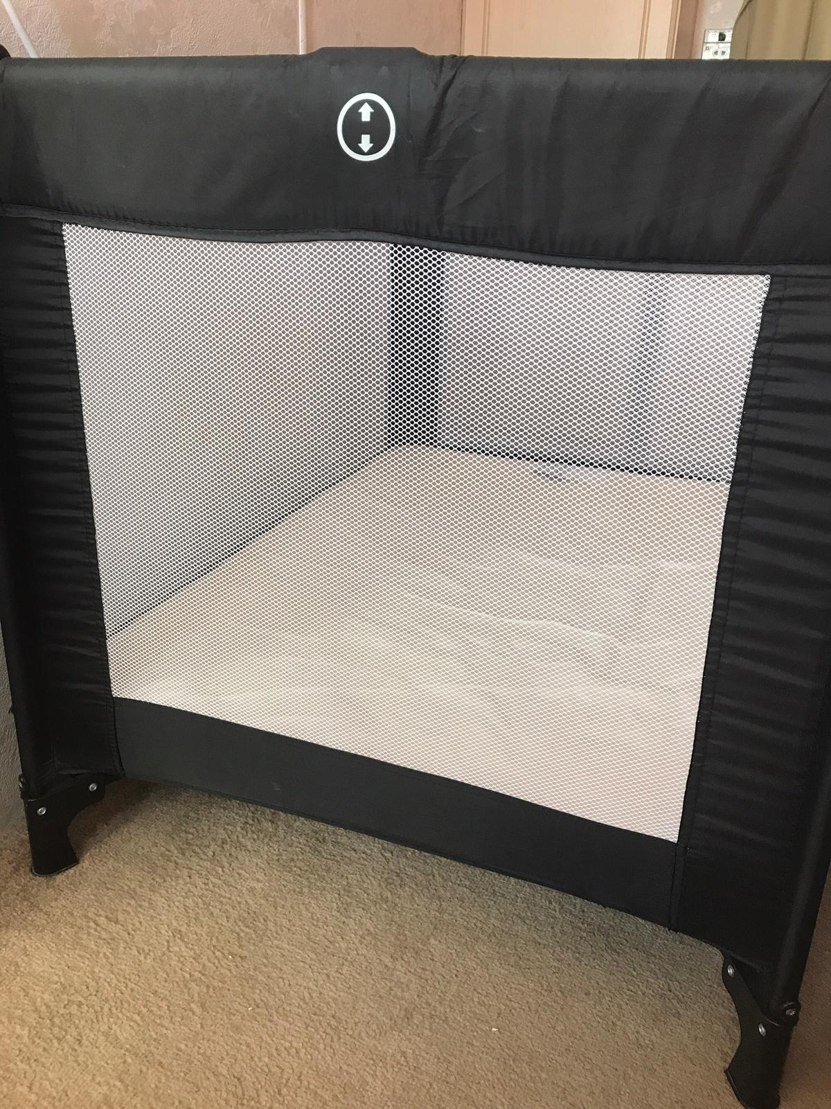 sports shoes afb48 f5fbe Red kite travel cot and Argos mattress