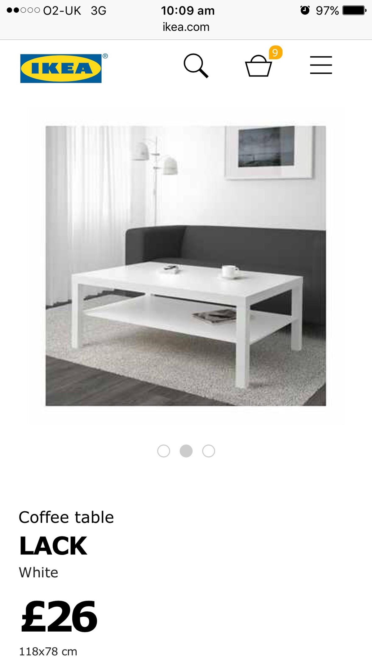 Ikea White Coffee Table 18