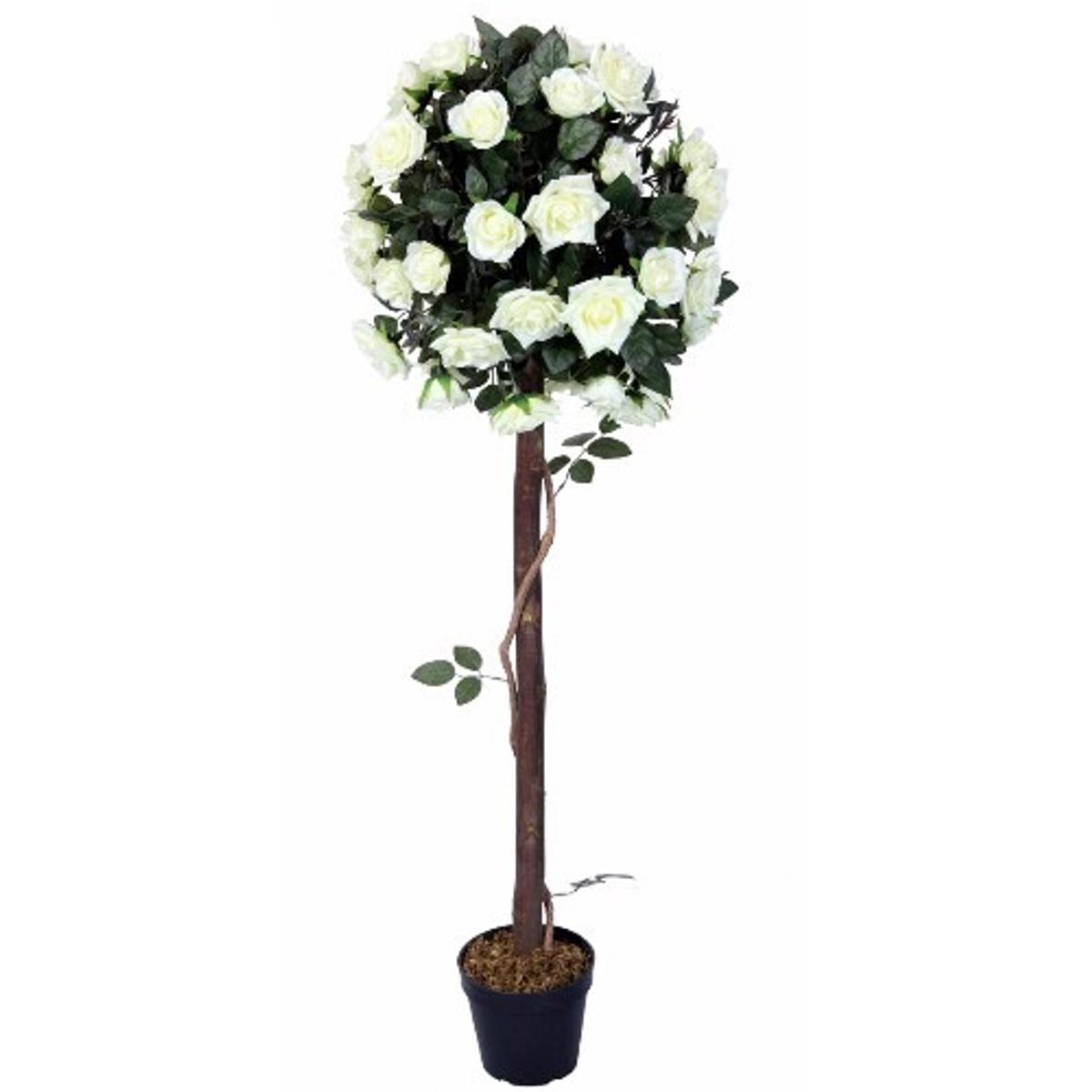 Artificial White Flower Topiary Trees X2 In Wa3 Lowton For 20 00 For Sale Shpock