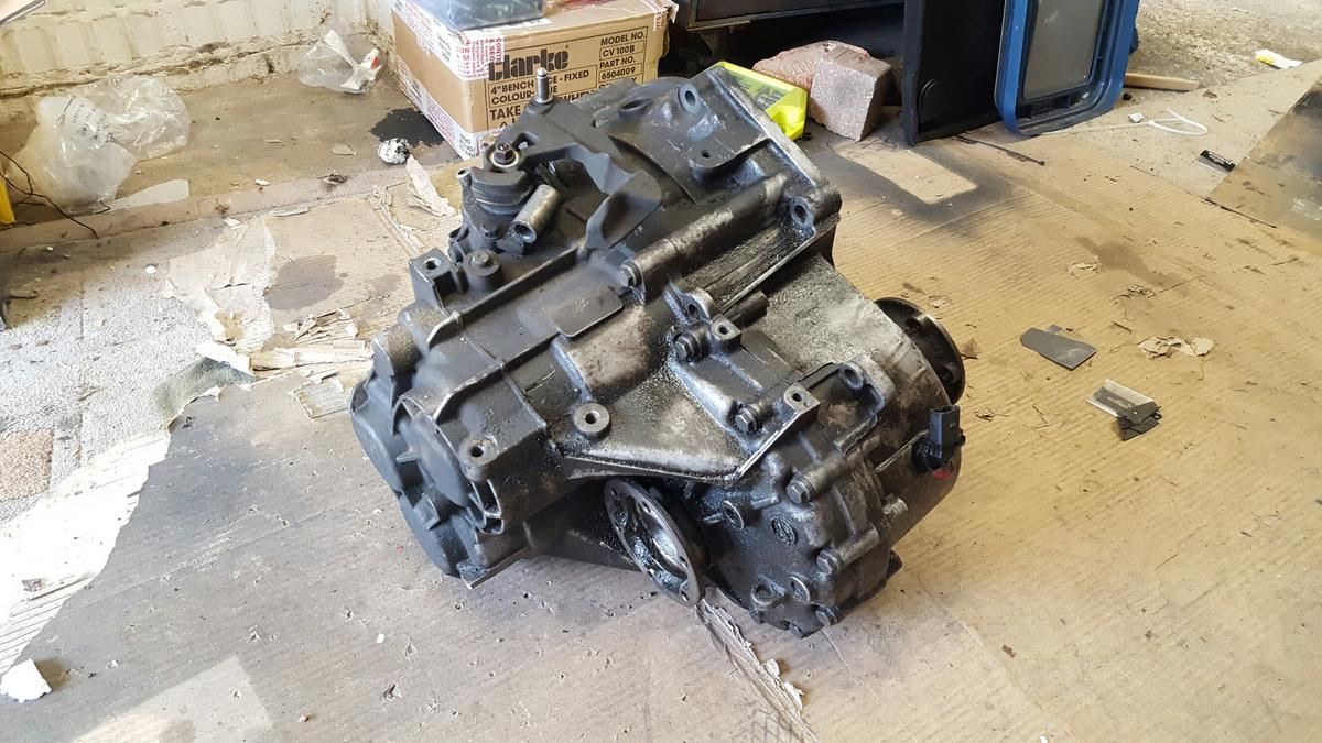 Pd130 gearbox 6 speed pd115/130