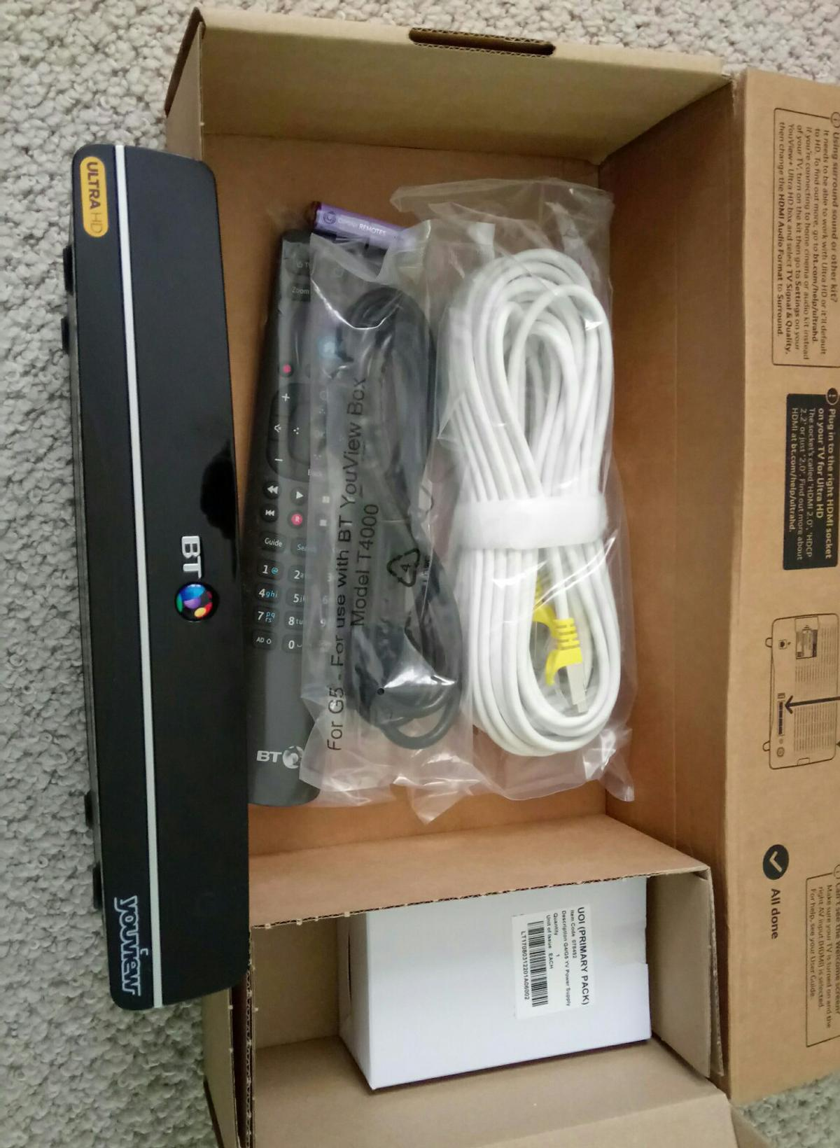 Magnificent Bt Youview Box 1 Tb In Dl17 Cornforth For 30 00 For Sale Shpock Wiring Cloud Hisonuggs Outletorg