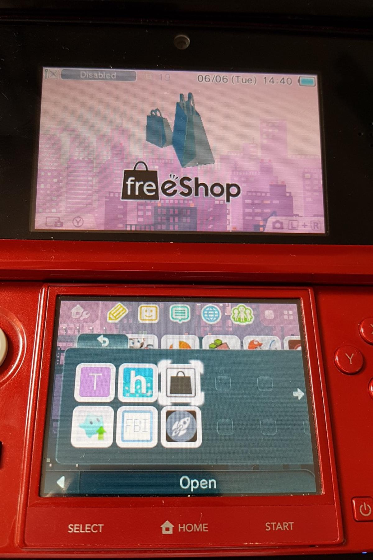 3ds With 30 Games Cheat Menu And Cfw In L36 Huyton Fur 90
