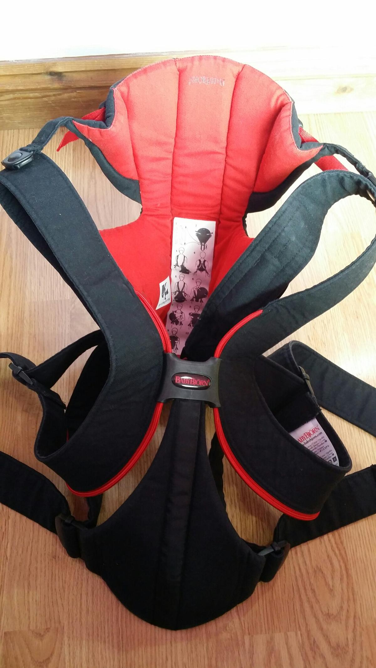 01763d74b54 BABY BJORN Active Baby Carrier Black   Red in B43 Birmingham for ...