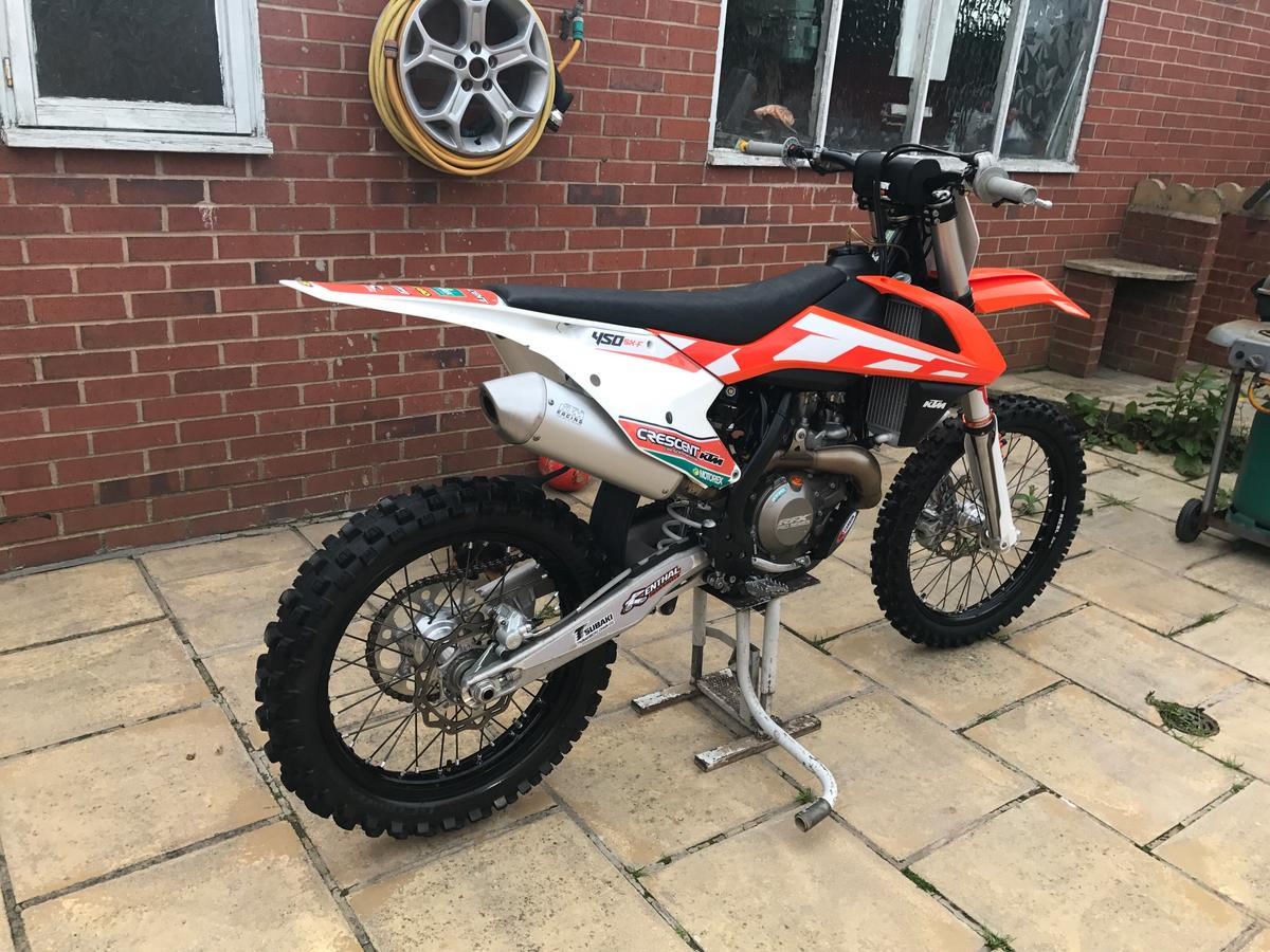 Ktm Sxf 450 2106 in PR4 Freckleton for £4,000 00 for sale