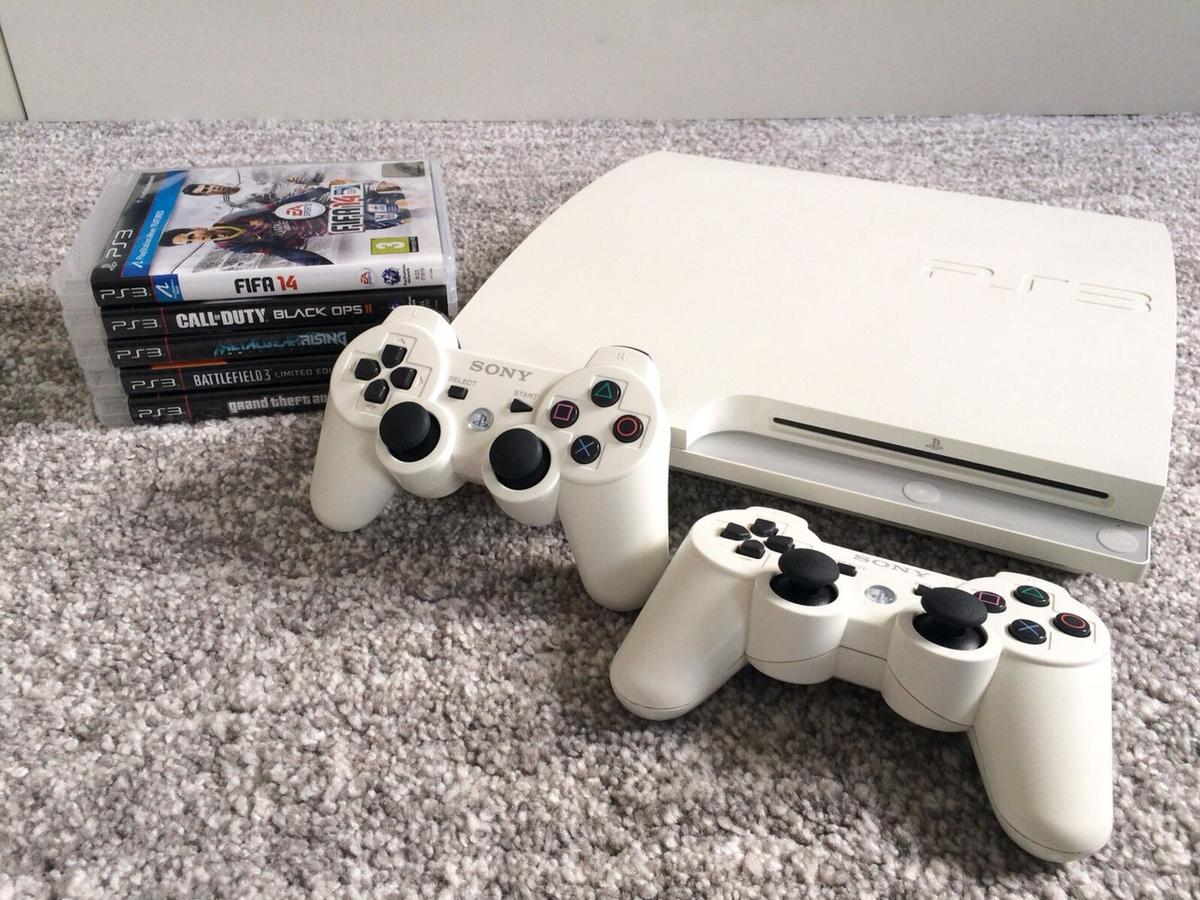 White PlayStation 3 Slim 320gb in ME1 Rochester for £125 00 for sale