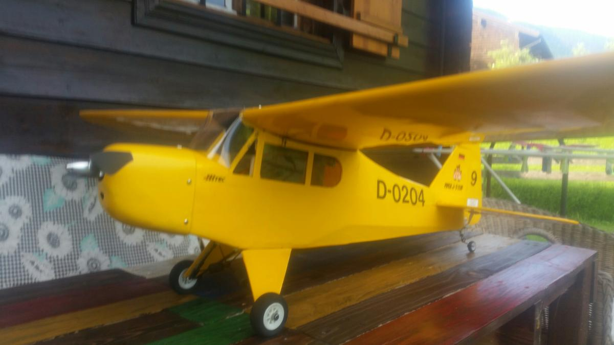Modellflugzeug Piper J3 cub in 83435 Bad Reichenhall for €80 00 for