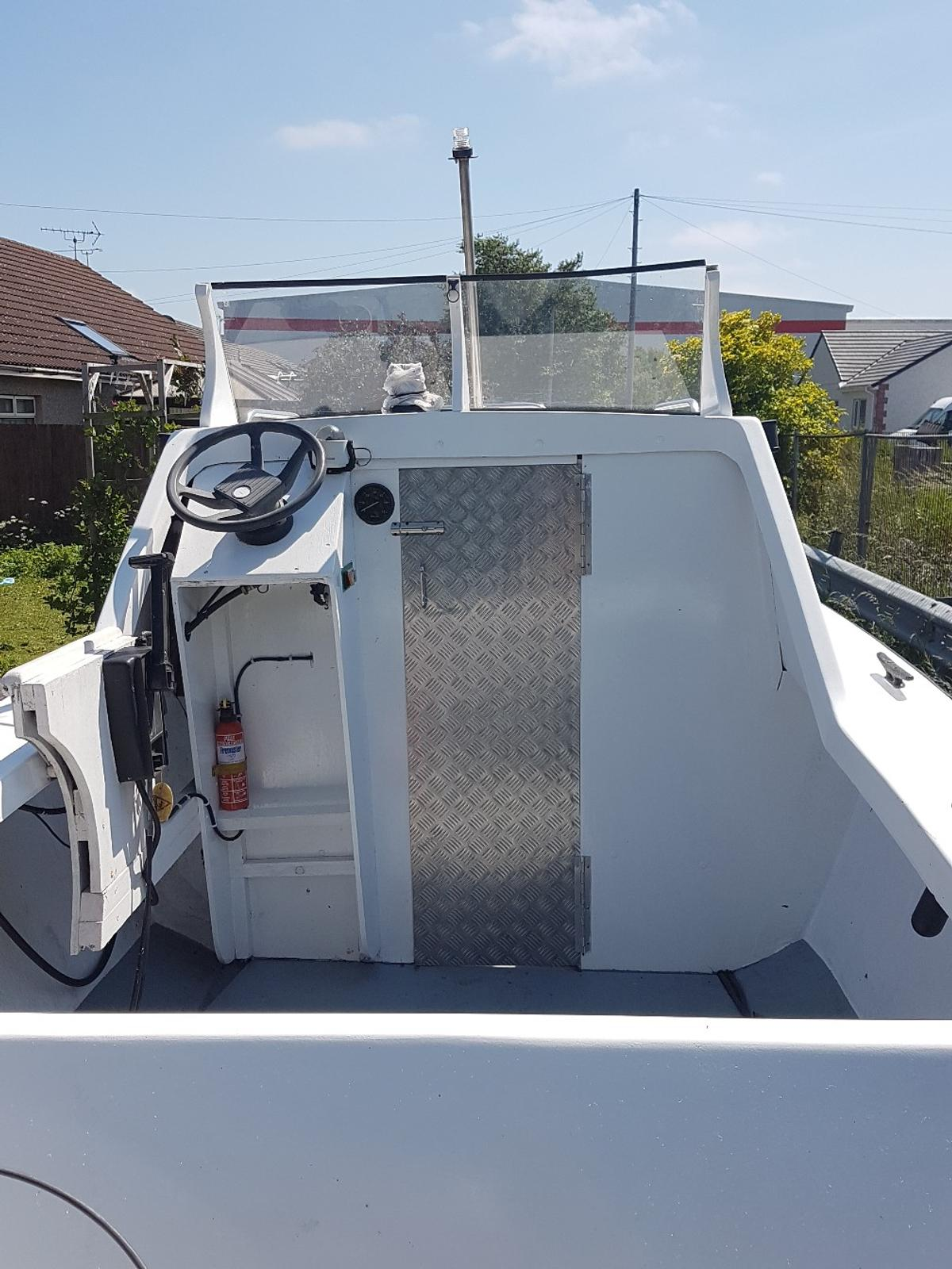 Fishing boat in CA14 Siddick for £1,300 00 for sale - Shpock