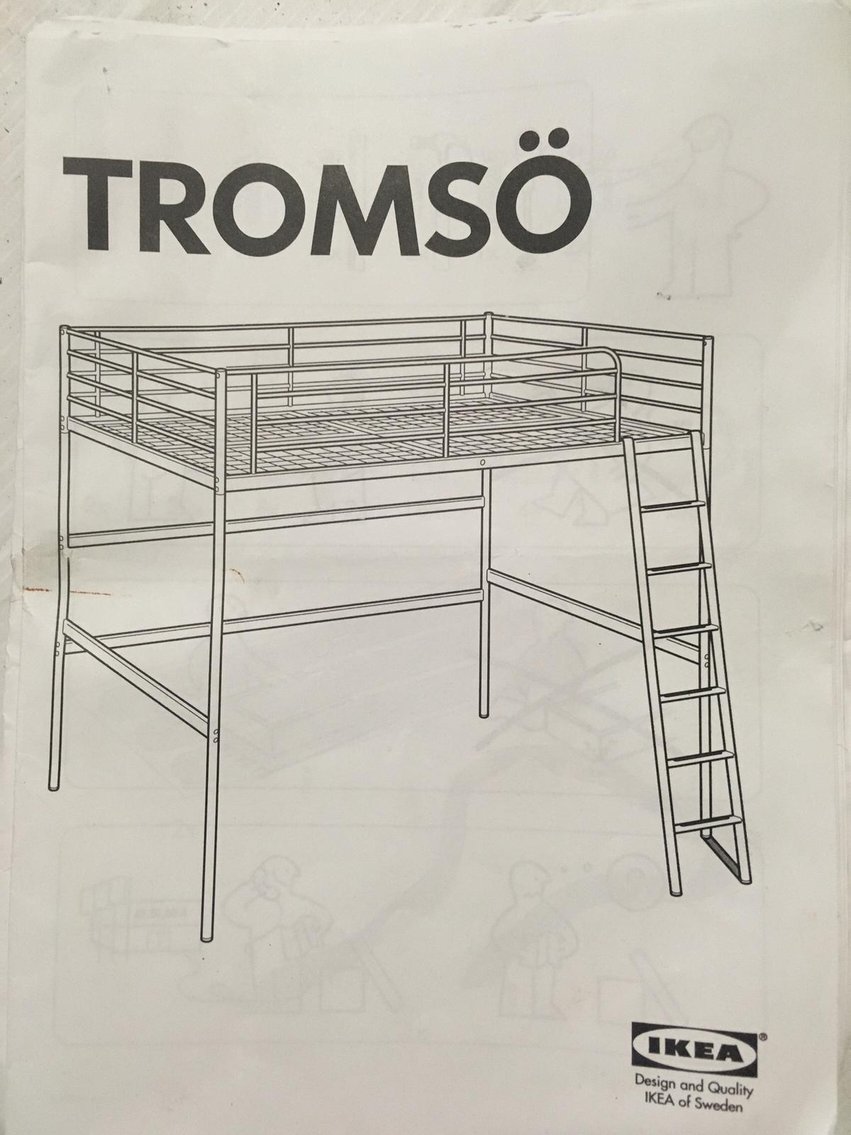 Letto A Soppalco 140x200 Tromso Ikea In 20090 Buccinasco For