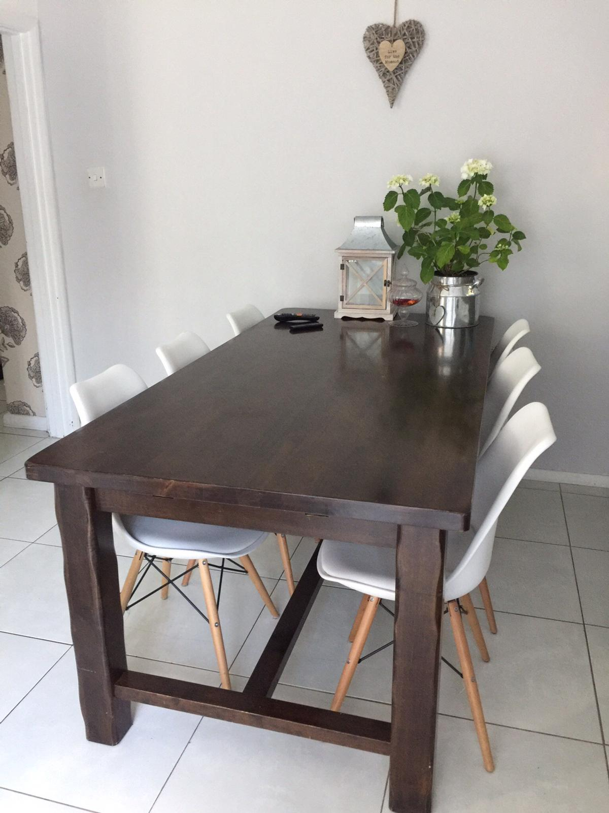 Prime Mango Wood Extendable Dining Table In Sw16 London Fur 80 00 Download Free Architecture Designs Scobabritishbridgeorg