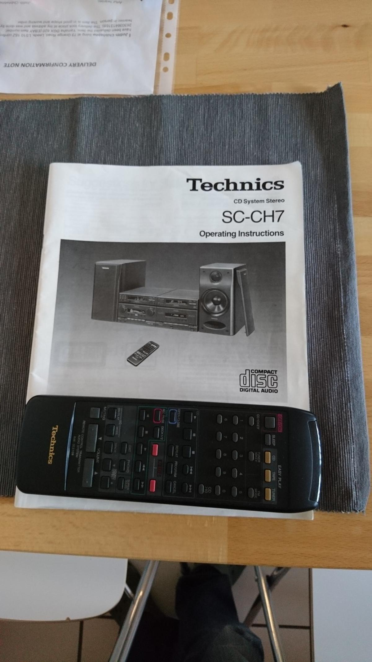 Technics SC CH7 hifi separate system in S71 Barnsley for £120 00 for