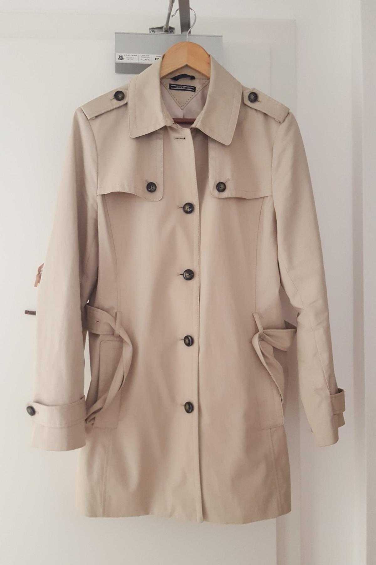 sneakers for cheap dfecb 35bf9 Tommy Hilfiger Damen Trenchcoat Gr 44