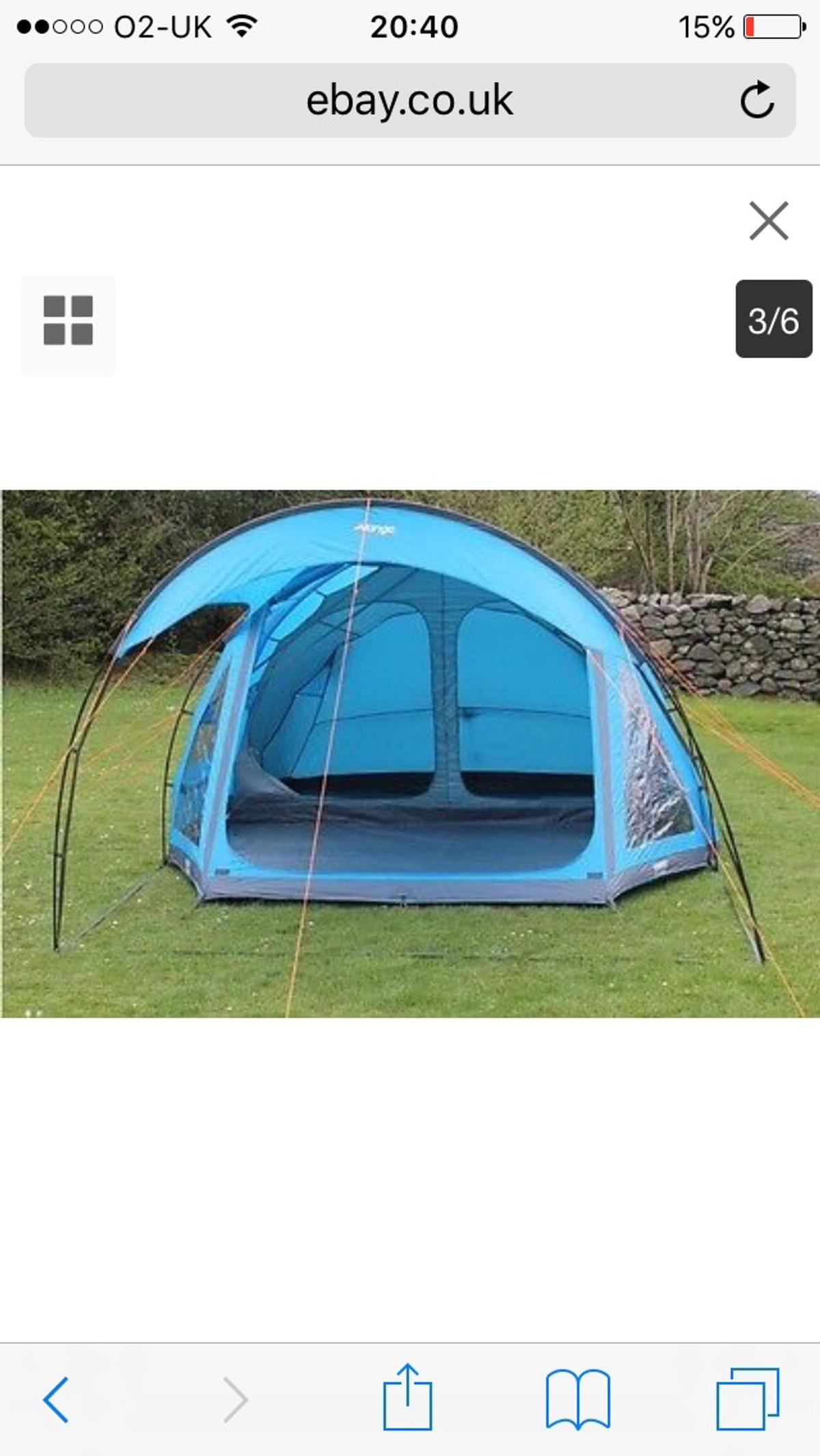 Magnificent Vango Eos550 Sc Family 5 Man Tent In Dn12 Conisbrough For Download Free Architecture Designs Rallybritishbridgeorg