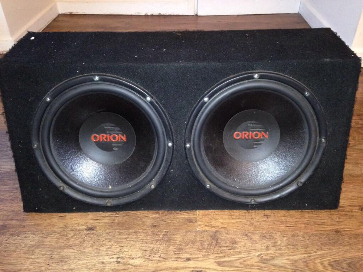 Two 12inch Orion subs in sealed box in ME4 Chatham for