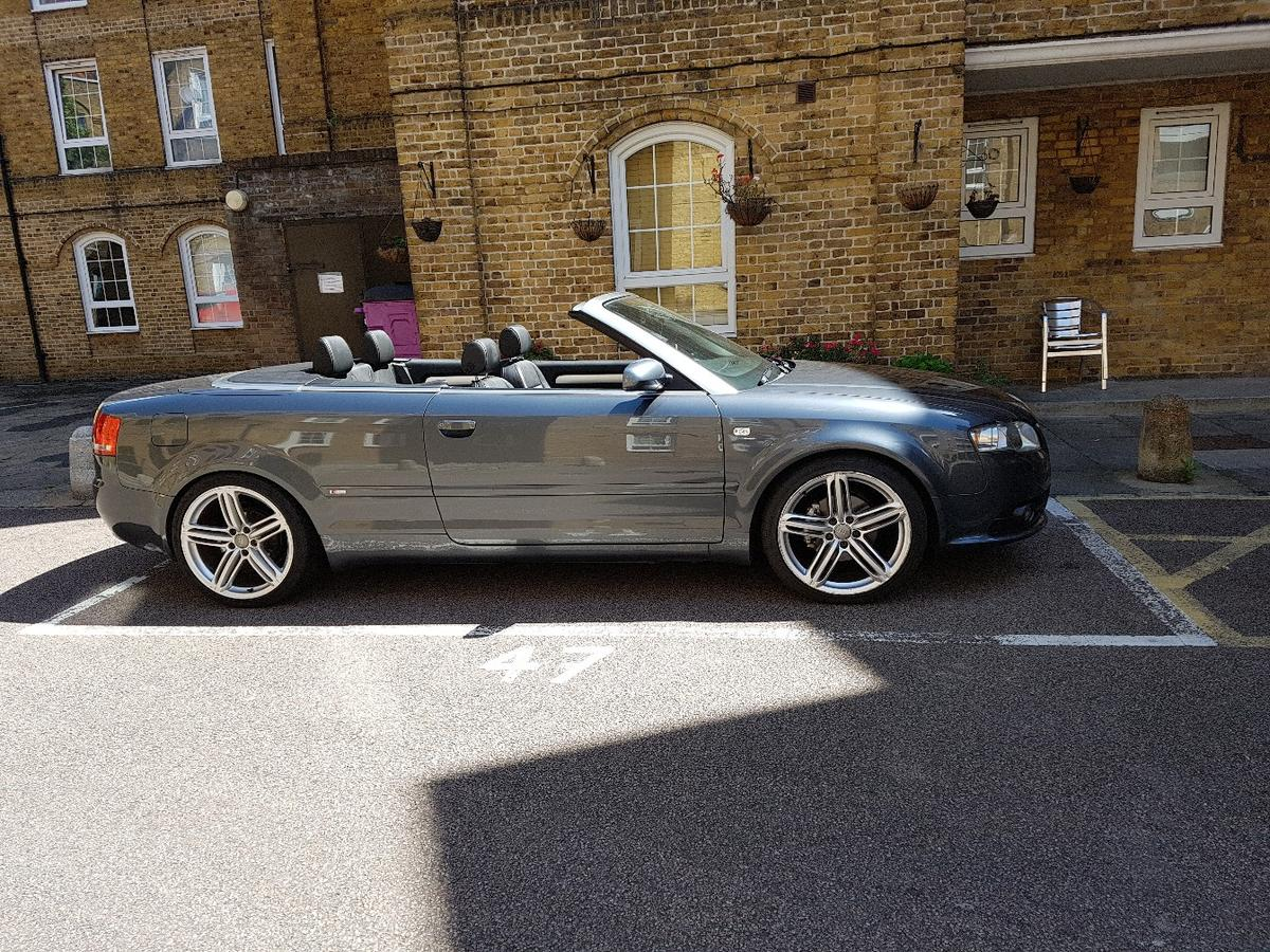 Audi A4 B7 2 0 Tdi Convertible Sline In E1w London For 4 000 00 For Sale Shpock