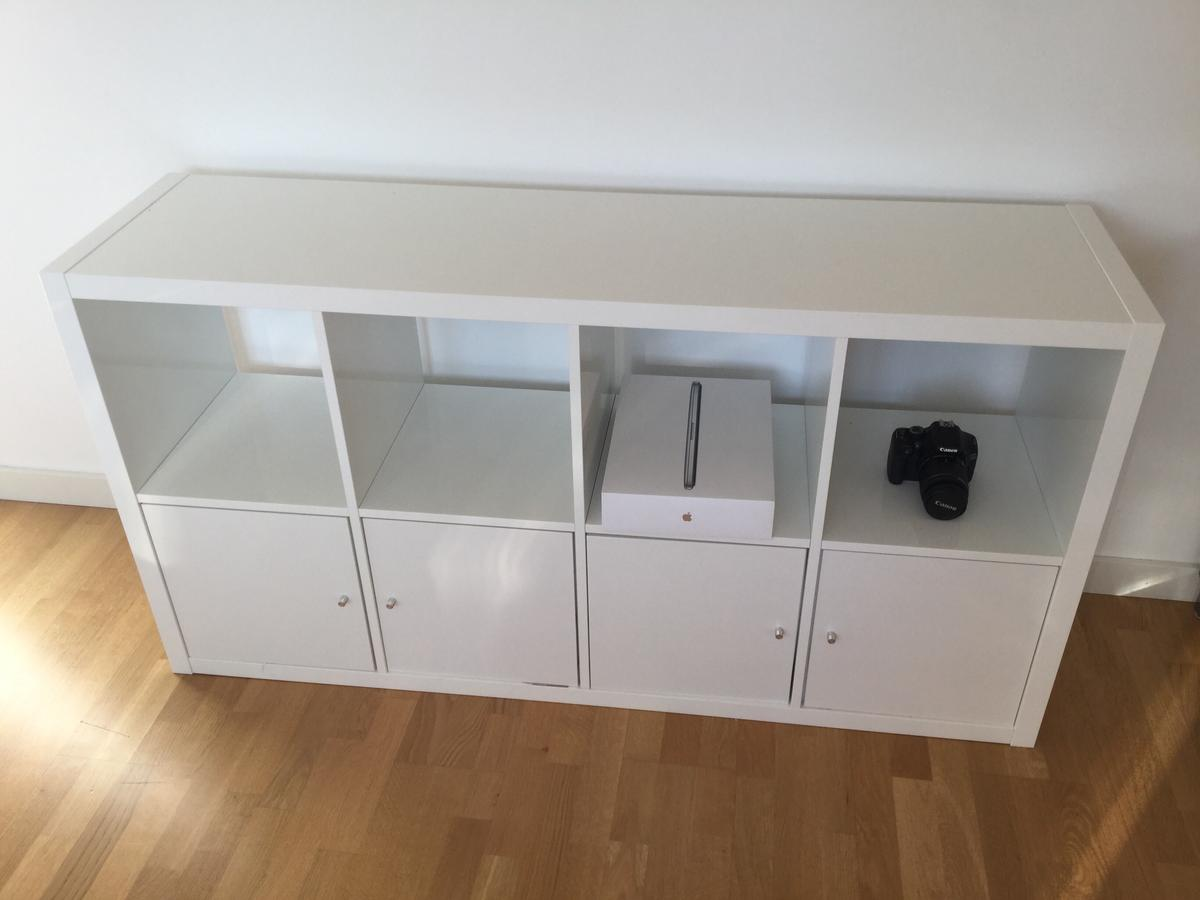 Ikea Expedit 5x5 Regal Raumteiler (Maße 182x182x39 cm) in