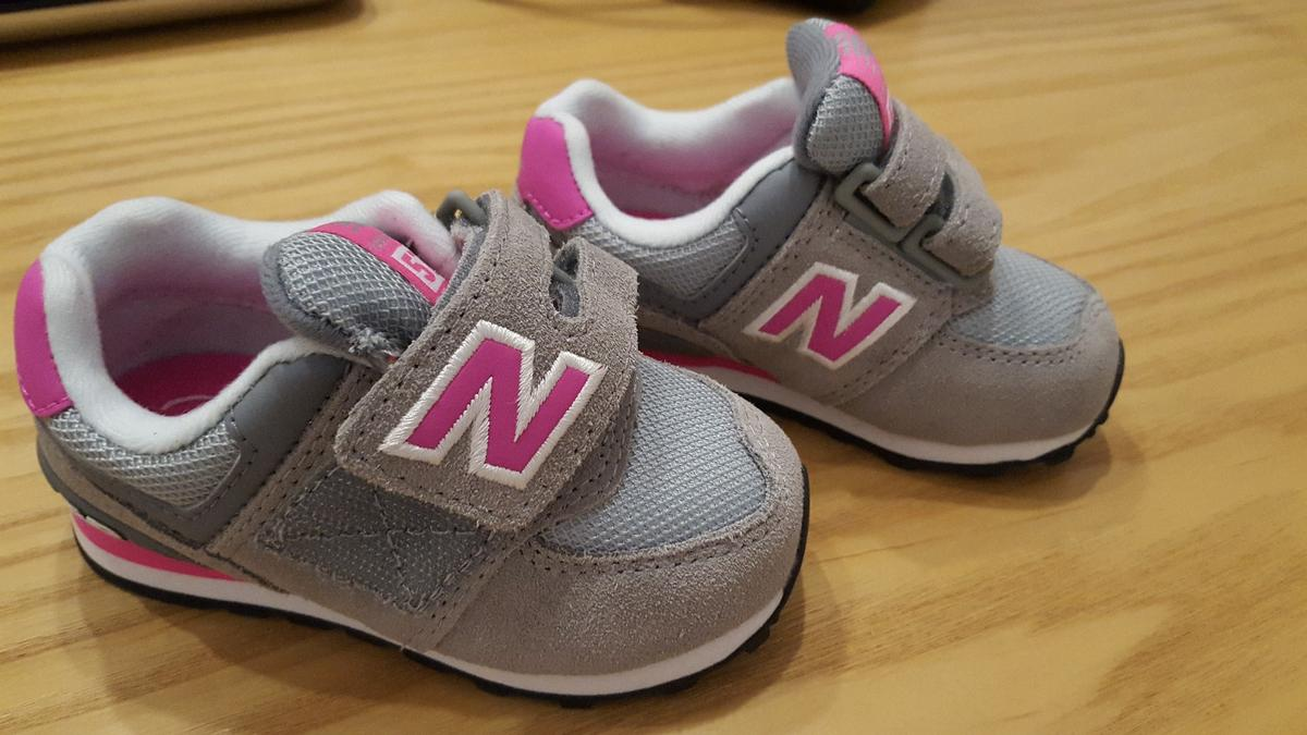the best attitude 92b72 0a4d7 NEW - NEW BALANCE 574 TODDLER (girl)