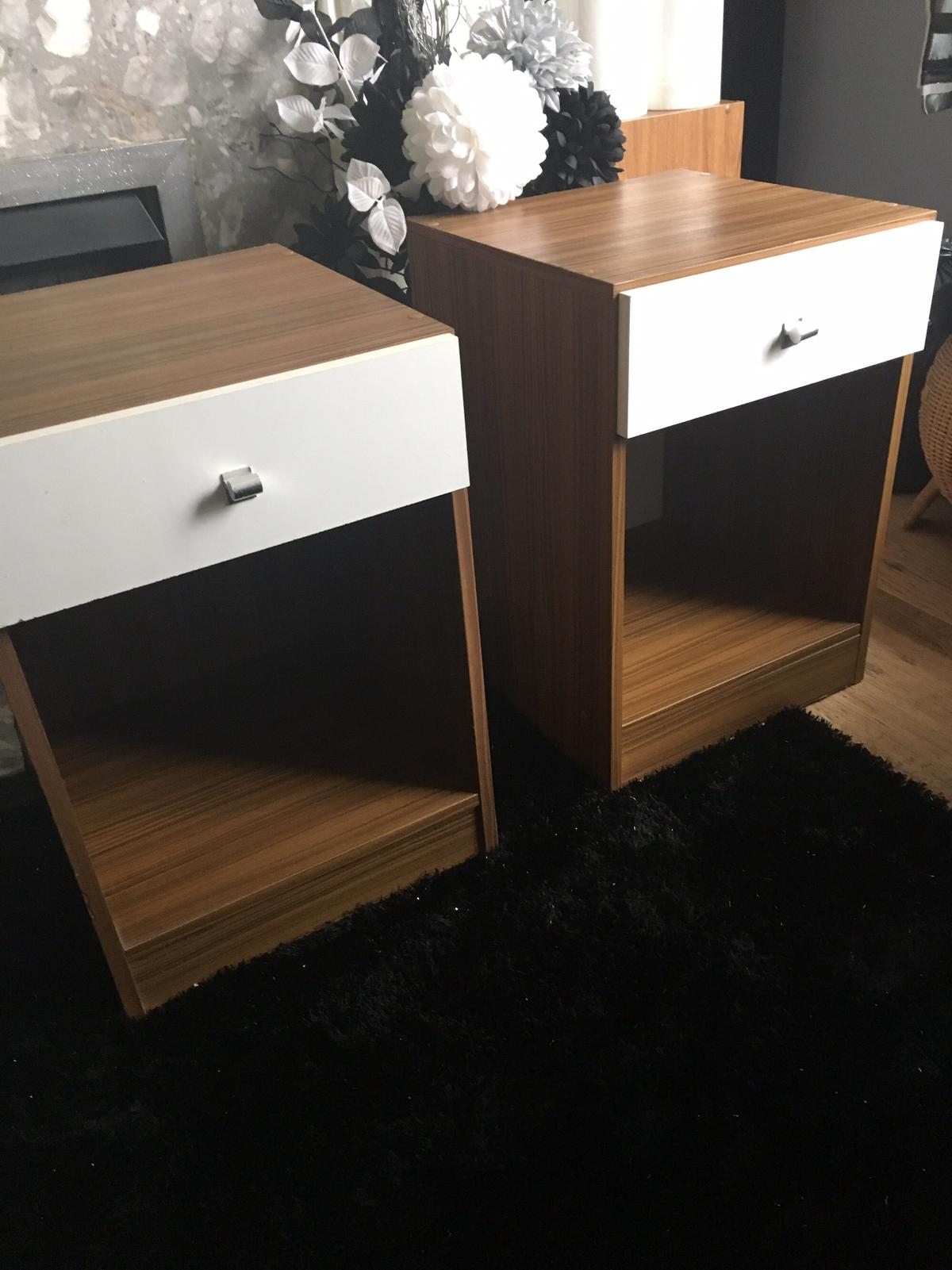 Description Two Bedside Tables