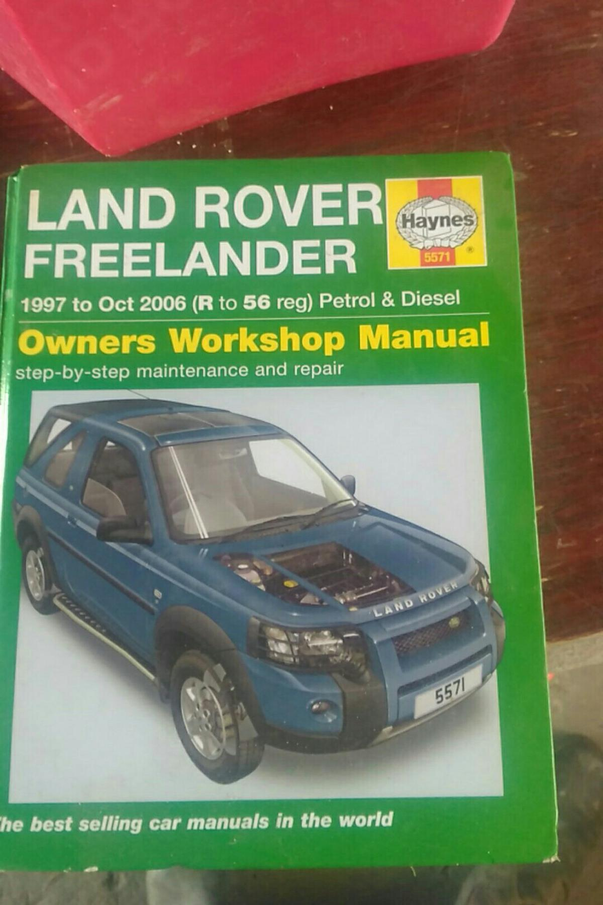 Land Rover Freelander Repair Manual Haynes Manual Workshop Manual 1997 2006 5571 Service Reparaturanleitungen