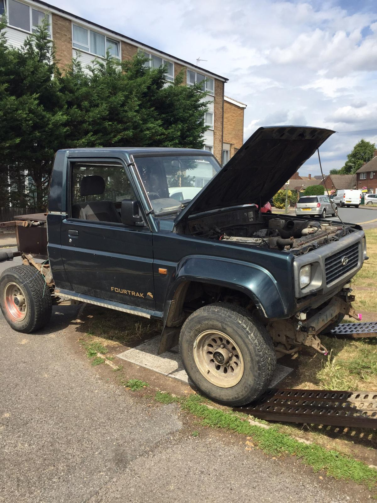 daihatsu fourtrack off roader in TW19 Stanwell for £500 00 for sale