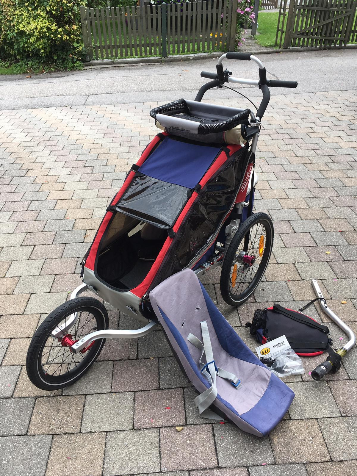 Thule Chariot Cx1 Fahrradanhänger Buggy In 83454 Anger For