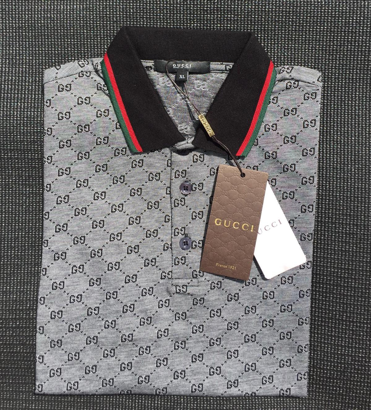 217db2d65 Gucci Polo T-Shirt, GG, 4 Colours, All Sizes! in CO4 Colchester for ...