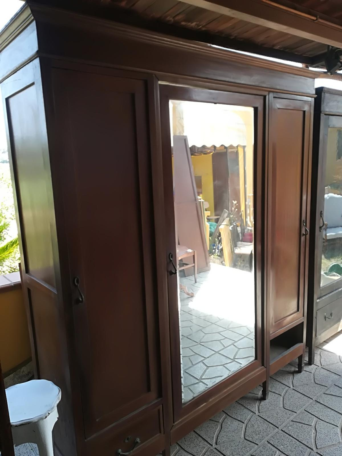 Armadio Antico 3 Ante.Armadio Liberty Antico In 00132 Roma For 240 00 For Sale Shpock