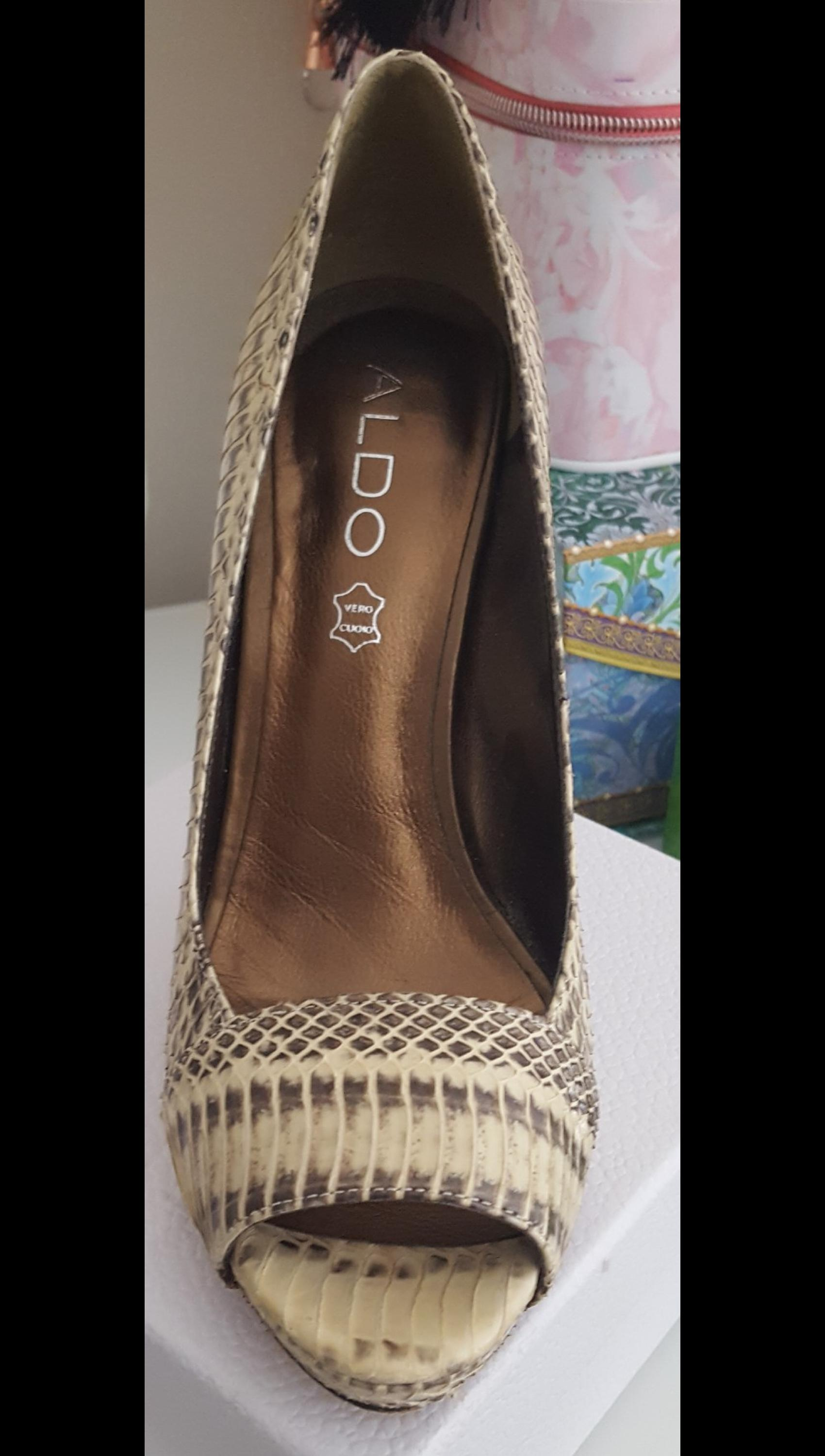 92208bb98a0 Faux snake skin Aldo shoes in BH14 Poole for £10.00 for sale - Shpock