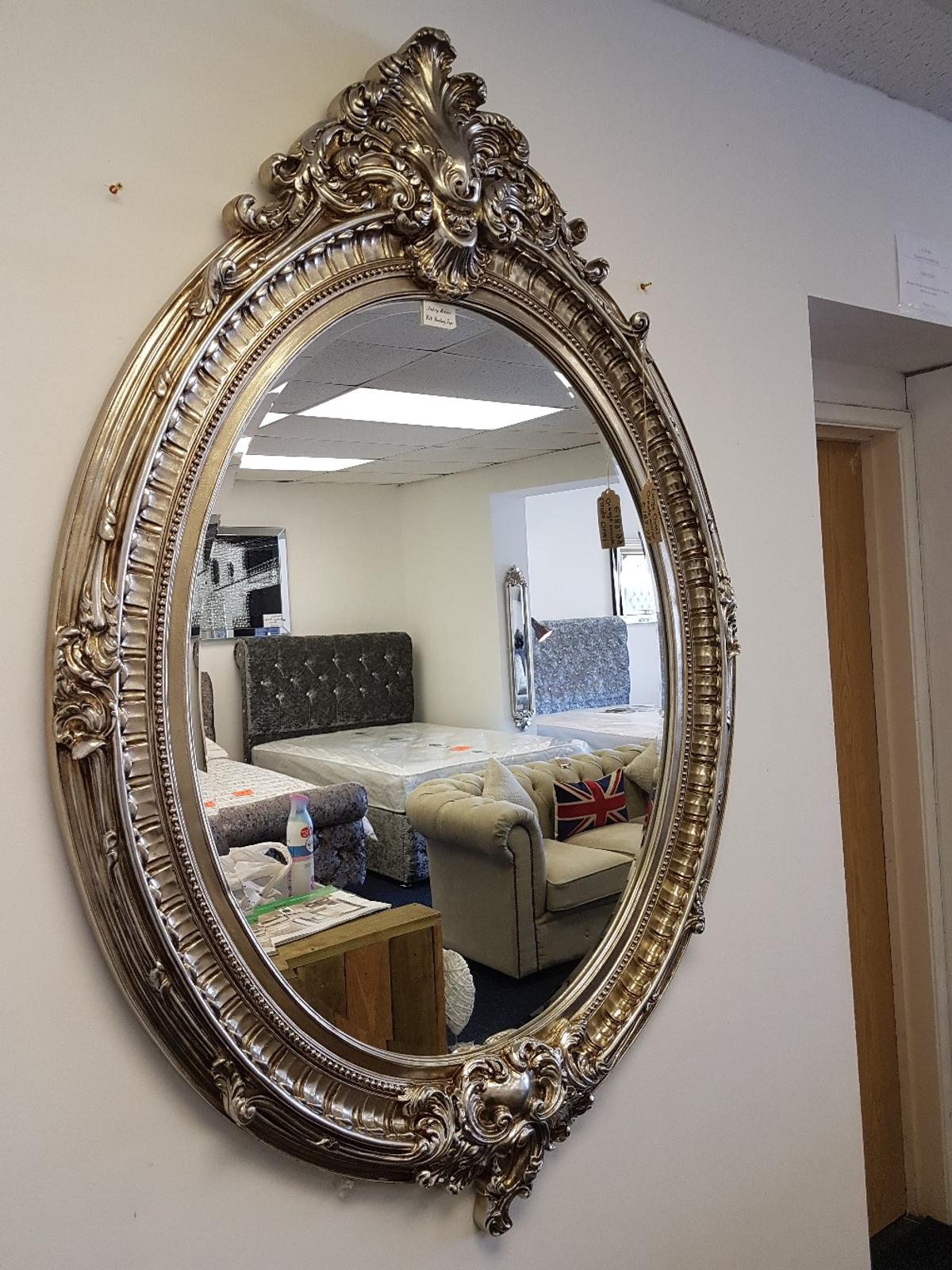 Brand New Ornate Oval Mirror In Champagne In L36 Liverpool For 125 00 For Sale Shpock