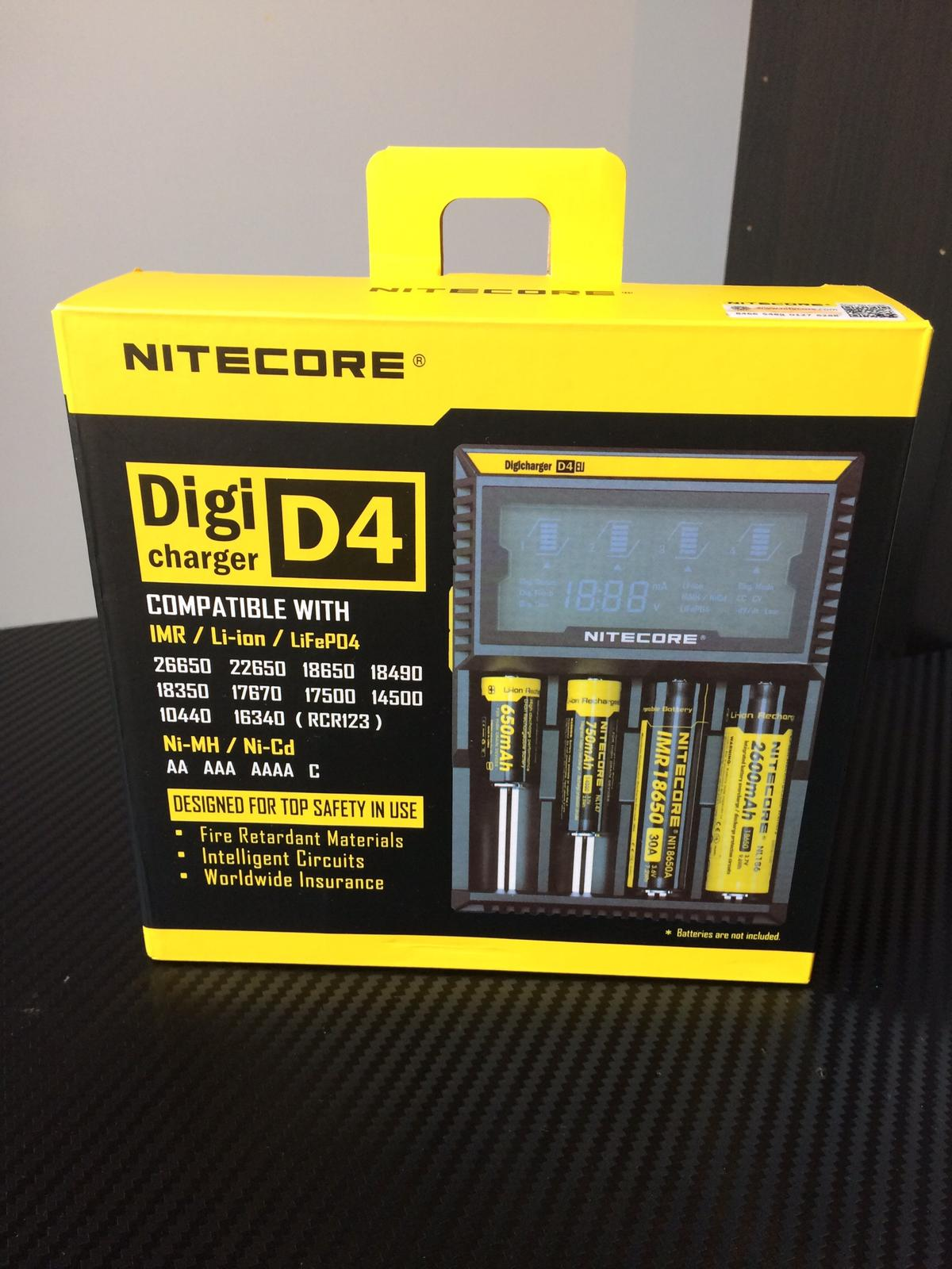 New Nitecore D4 Charger Vape Battery Charger in B23 Birmingham for