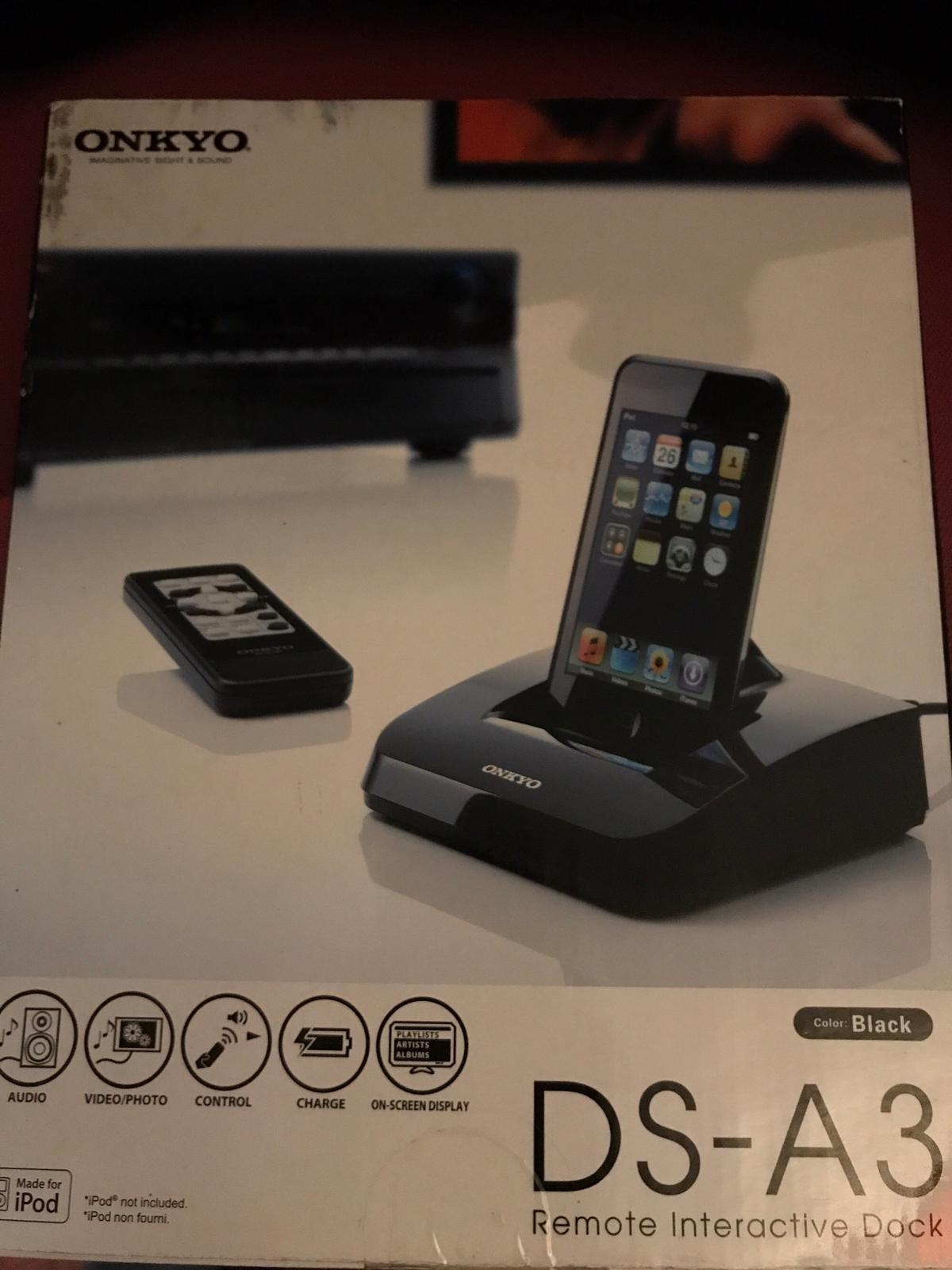 Onkyo DS-A3 iPod/iPhone dock 30 Pin in RH1 Banstead for £25 00 for