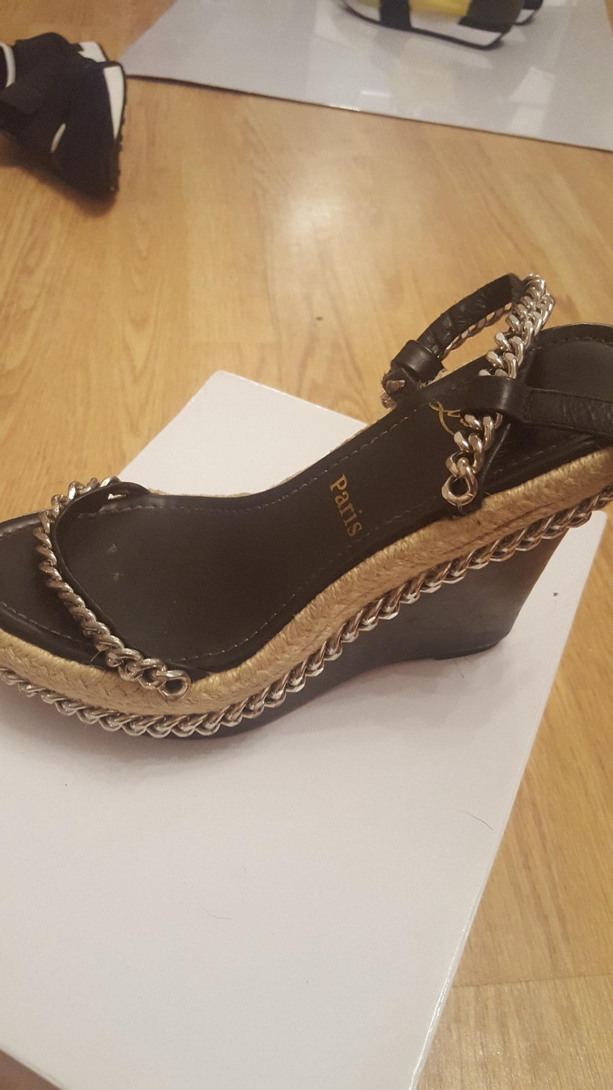 info for 330c5 1e92f Christian louboutin wedges