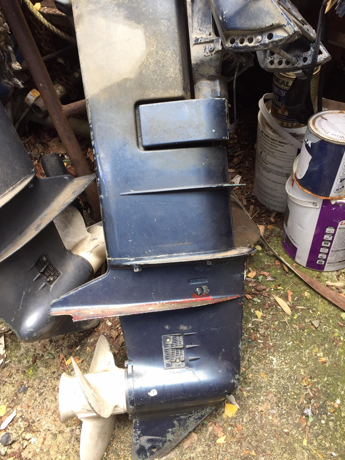 Two times Yamaha 20hp outboard engines in W12 London for