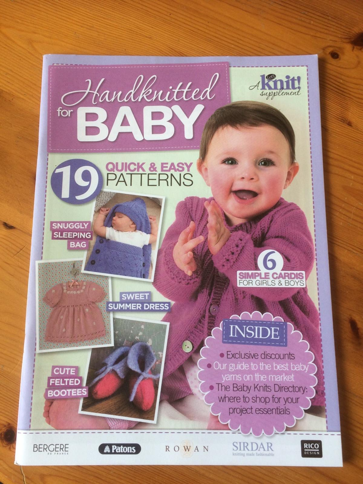Baby Knitting Patterns Book In Bd5 Bradford For 1 50 For Sale Shpock