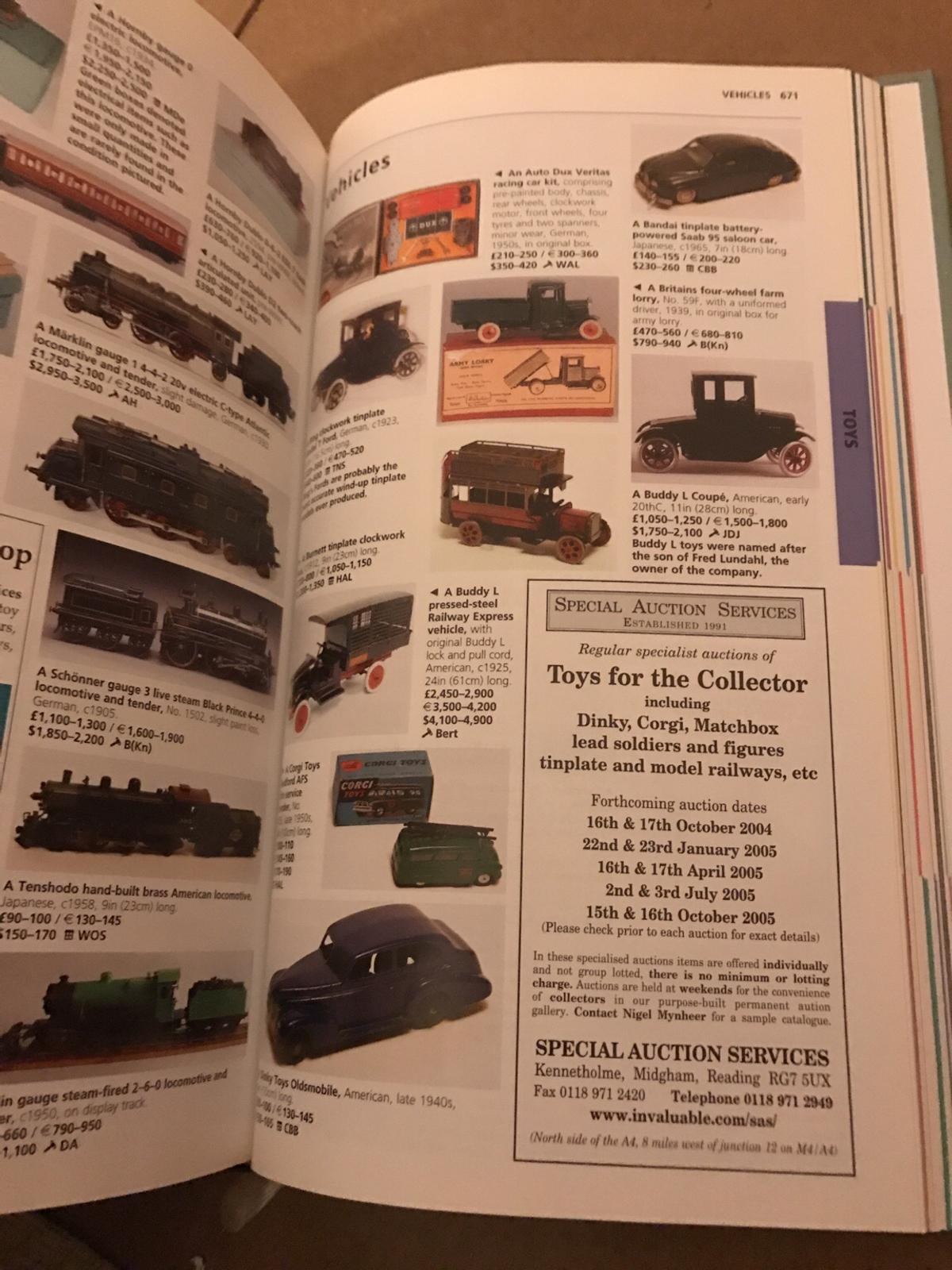 Millers antique price guide book 2005 in SS2-Sea for £3 00 for sale