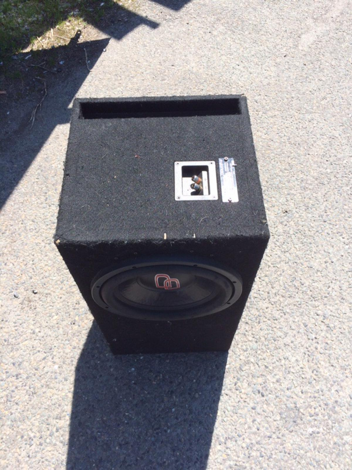 Digital designs LE-312 subwoofer in PL5 Plymouth for £60 00