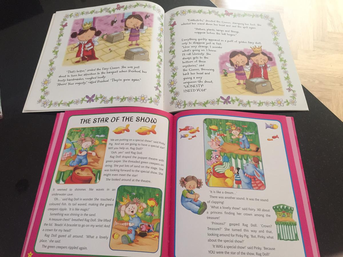 Girls story books x2 in NG17 Ashfield for £1 50 for sale