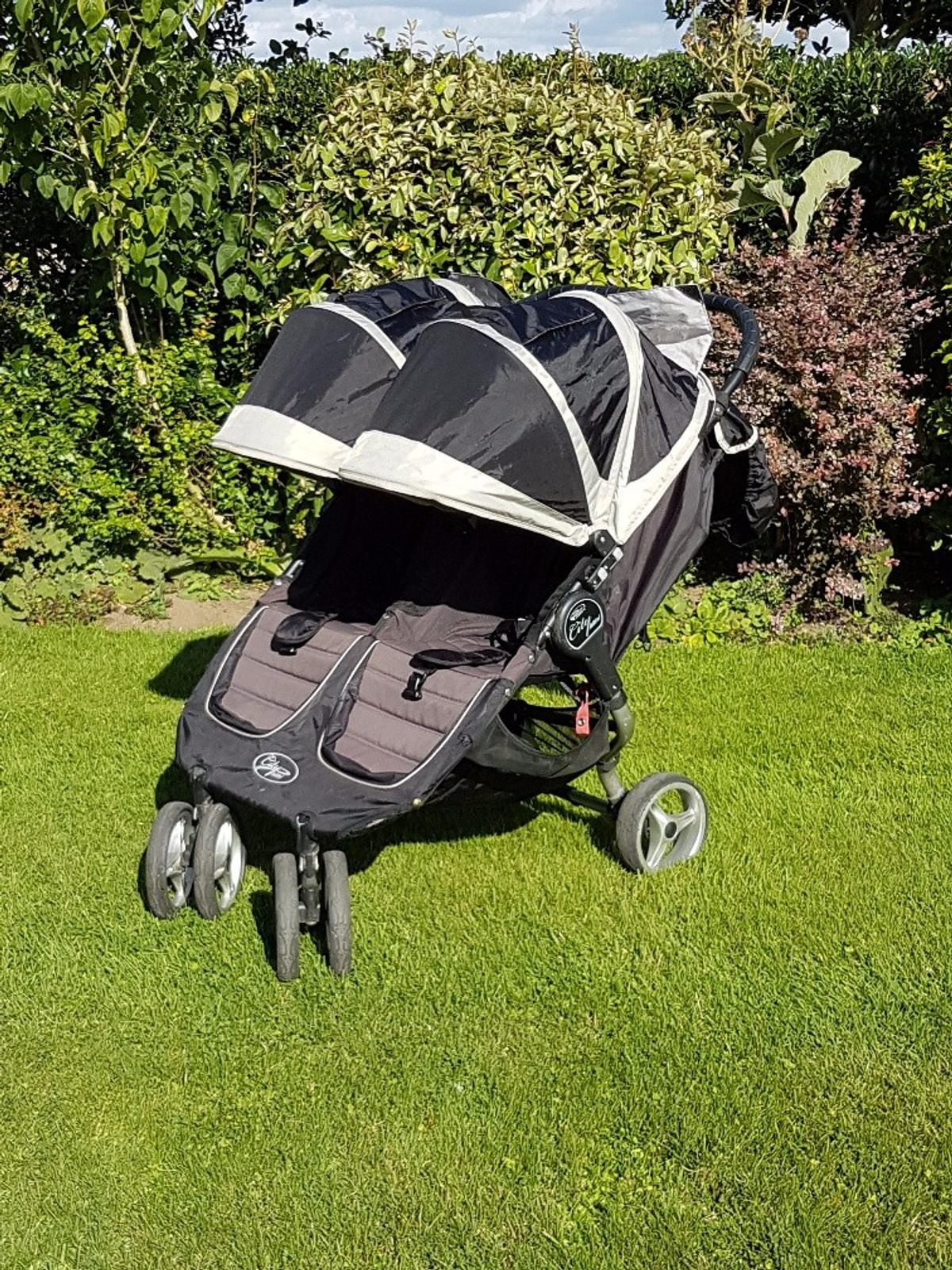 Baby Jogger City Mini Double & Carry Cot in CW5 Crewe for