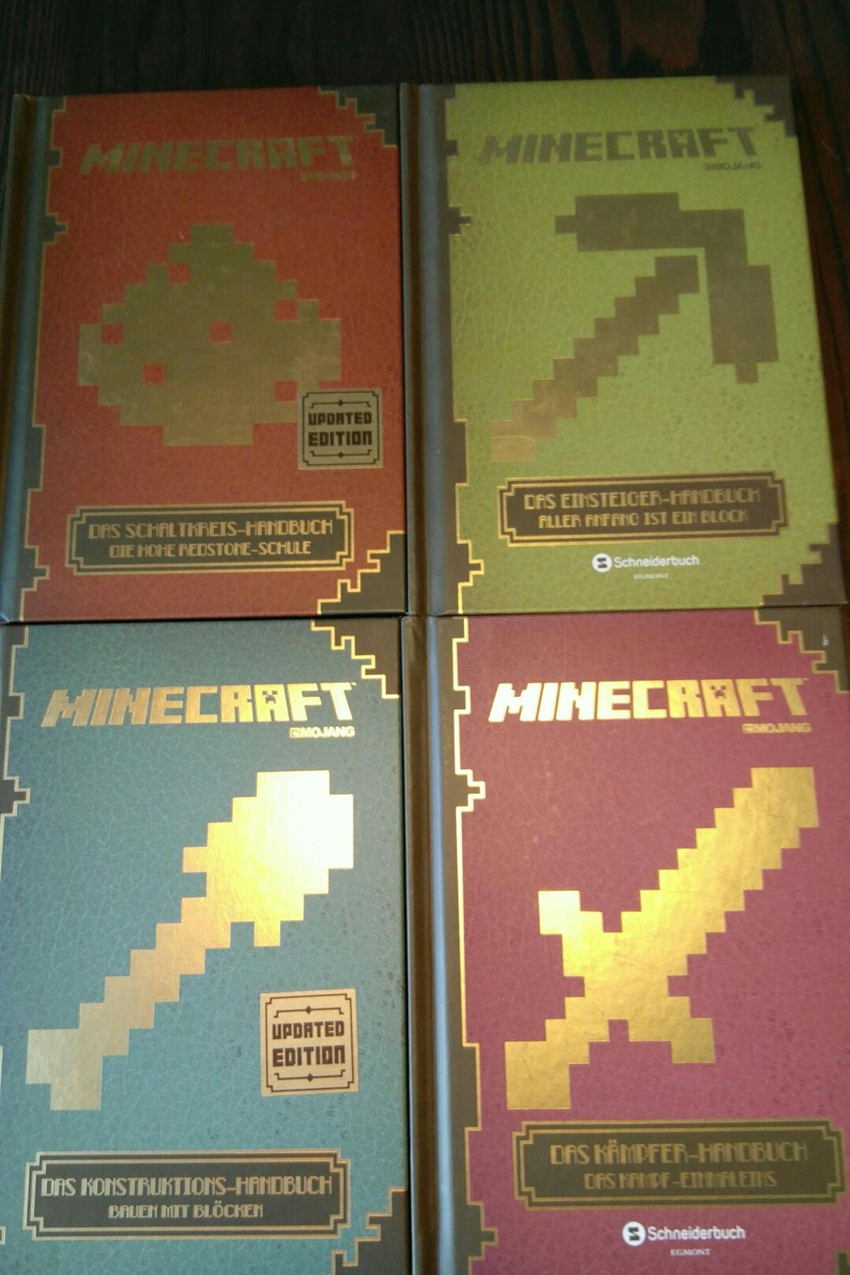 Mojang Minecraft Bucher Handbuch In 2340 Modling For 25 00 For Sale Shpock