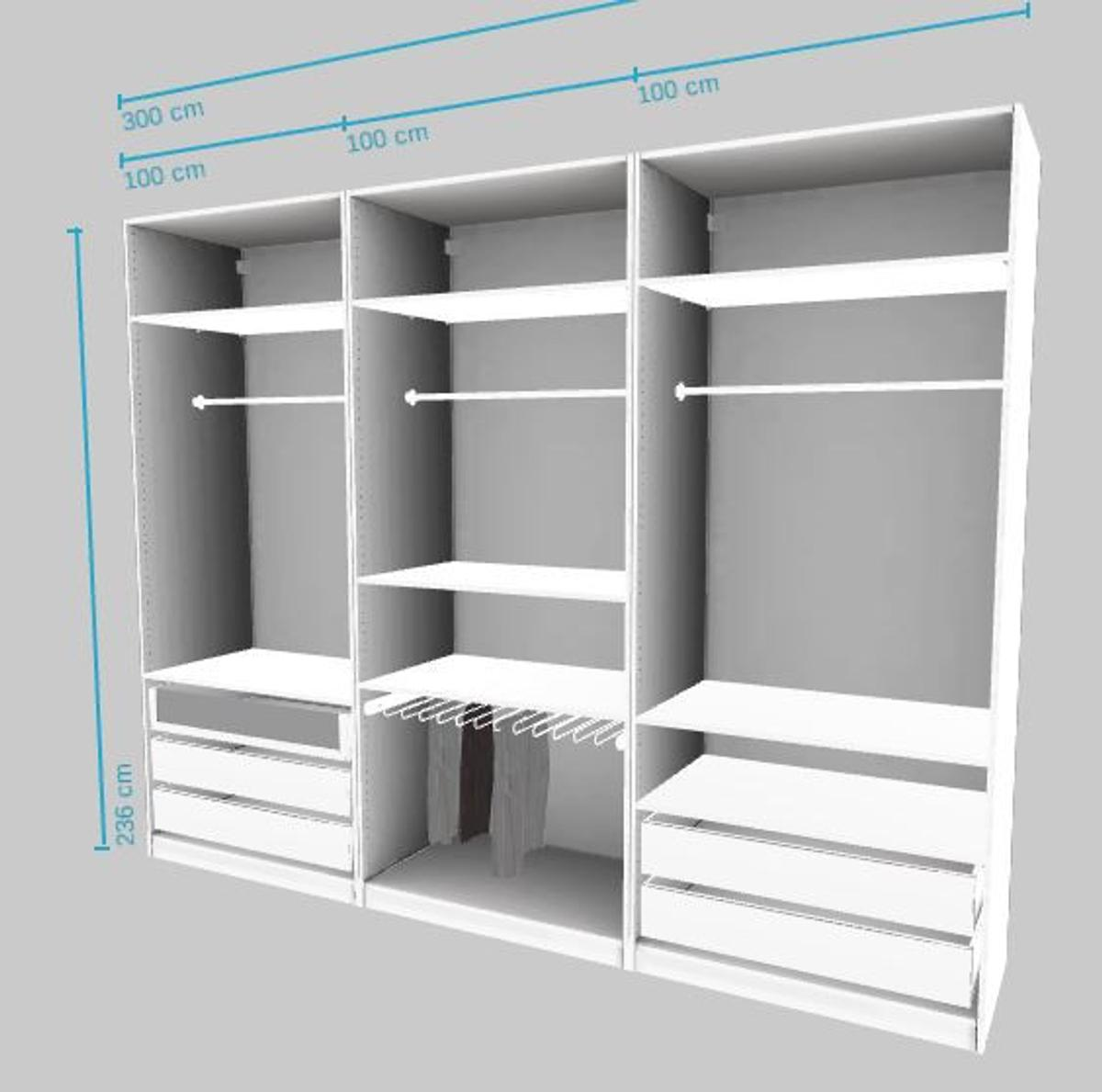 Ikea Pax Schrank 3 Meter X 2 36 Meter In 50354 Hurth For 320 00