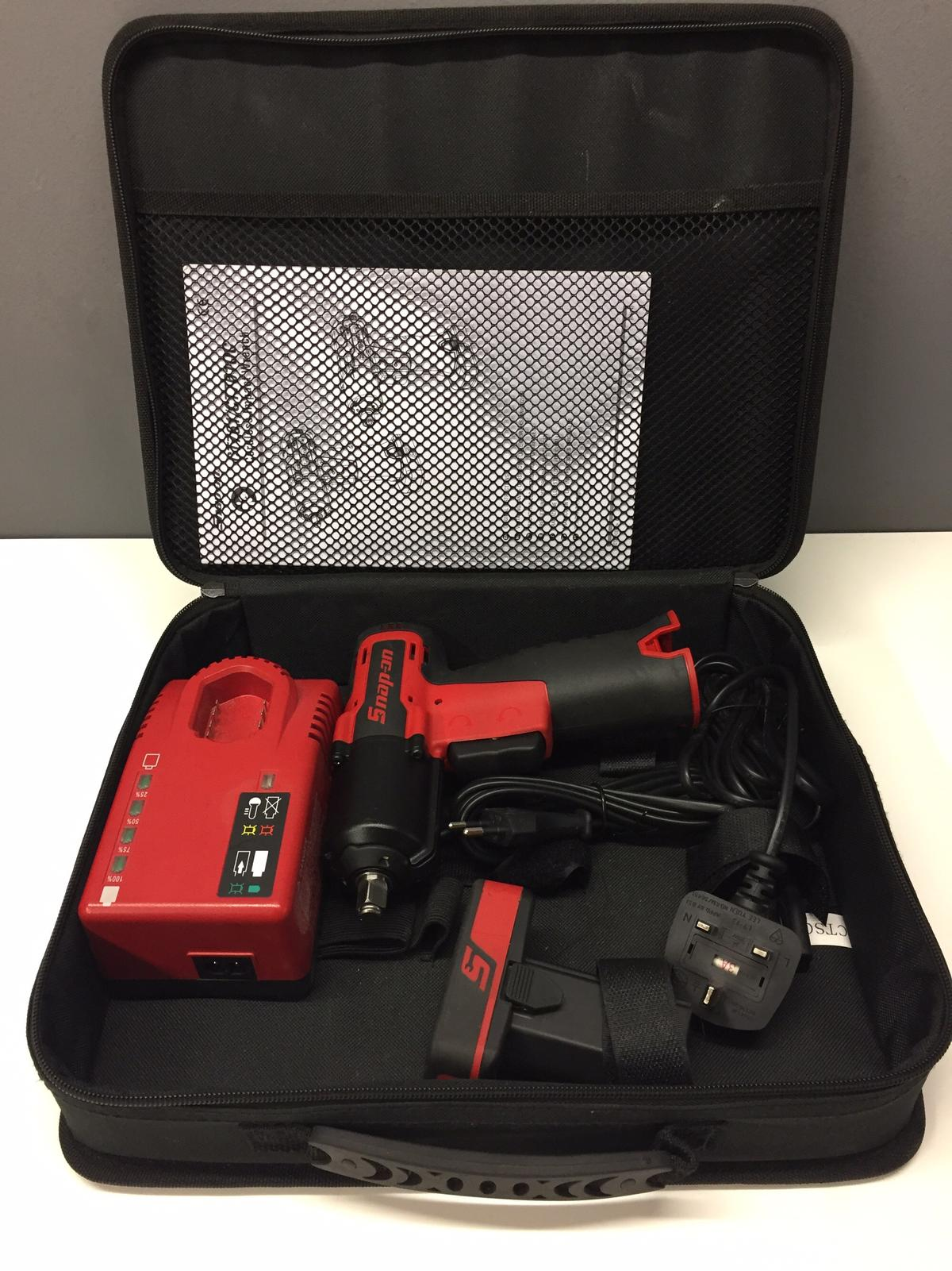 Snap On 14 4v 3/8 cordless impact Wrench kit