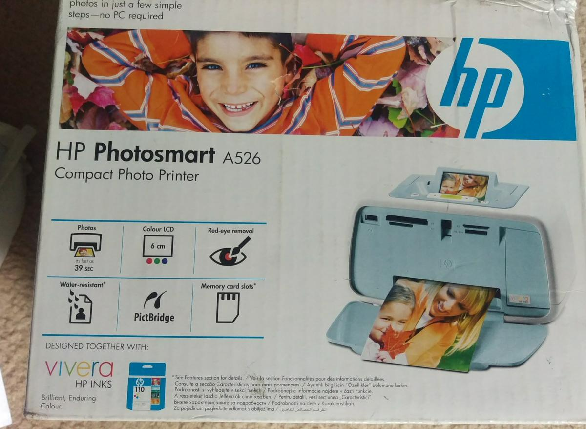 Hp Photosmart photo printer A526 in SW5 London for £16 00 for sale