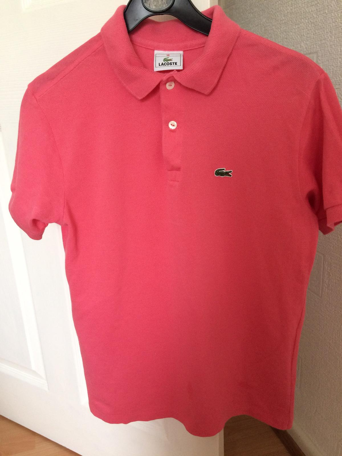 29b0728a1 Pink Lacoste polo shirt in NG7 Nottingham for £10.00 for sale - Shpock