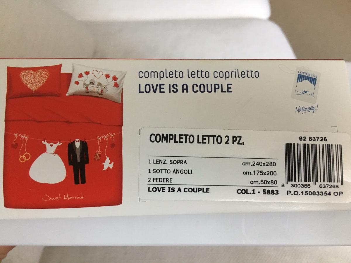 Bassetti Set Lenzuola Matrimoniali Love Is A Couple.Completo Letto Bassetti Love Is A Couple In 20129 Milano Fur 65