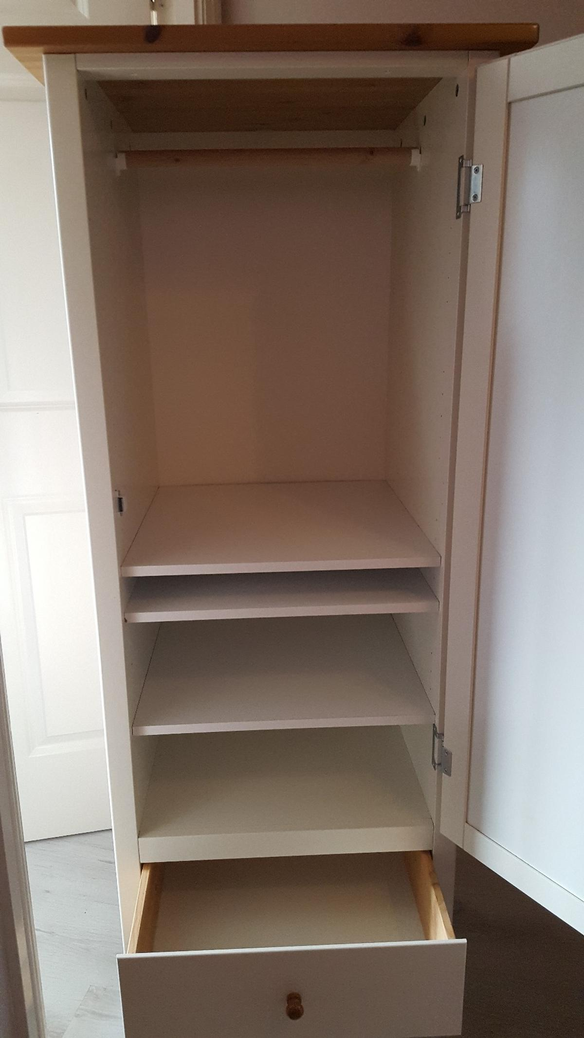 reputable site 0b3e5 f57ec Ikea Visdale Child / Baby wardrobe
