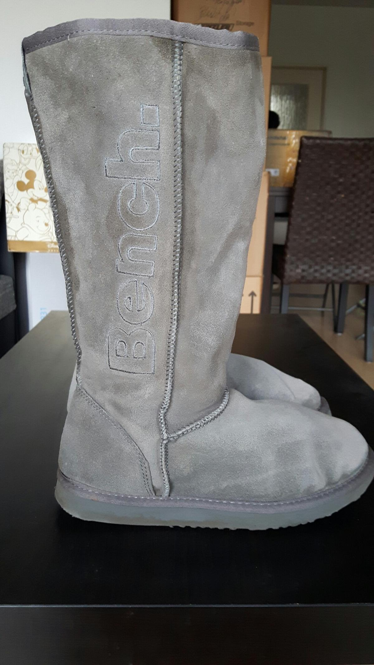 Bench Leder Winter Boots Stiefel grau in 42781 Haan für 20