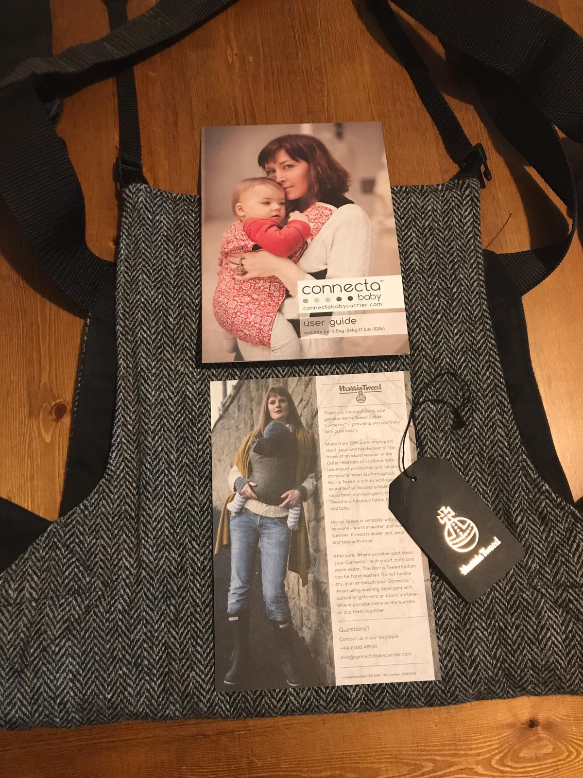 37505dbd1ec Harris Tweed Connecta baby carrier in NP24 New Tredegar for £80.00 ...